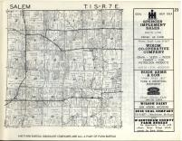 Salem T1S-R7E, Washtenaw County 1957